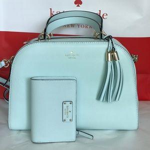 💎🌸Kate spade Satchel set💎crossbody/ bag &wallet
